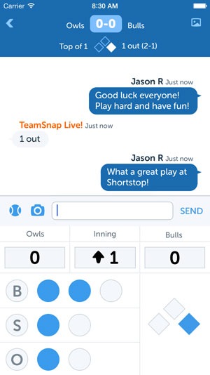 TeamSnap's app is consistently ranked in the Top 10 Sports Apps on iTunes!