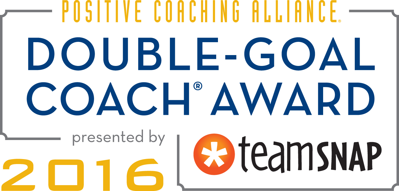 Congratulations to the Winners of the 2016 Positive Coaching Alliance Double-Goal Coach Award