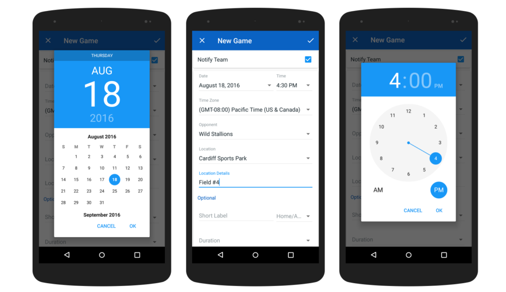 Android-Form-Schedule