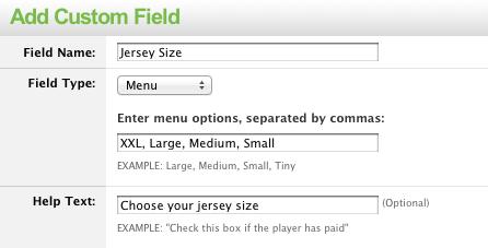 custom-field