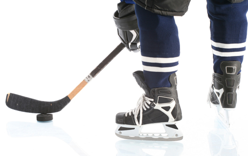 On Hockey Skates: Why Don't Young Hockey Players Listen to Their Feet?