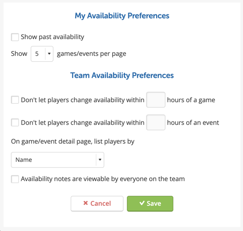 Availability Tips: How to Lock Changes and Track Attendance