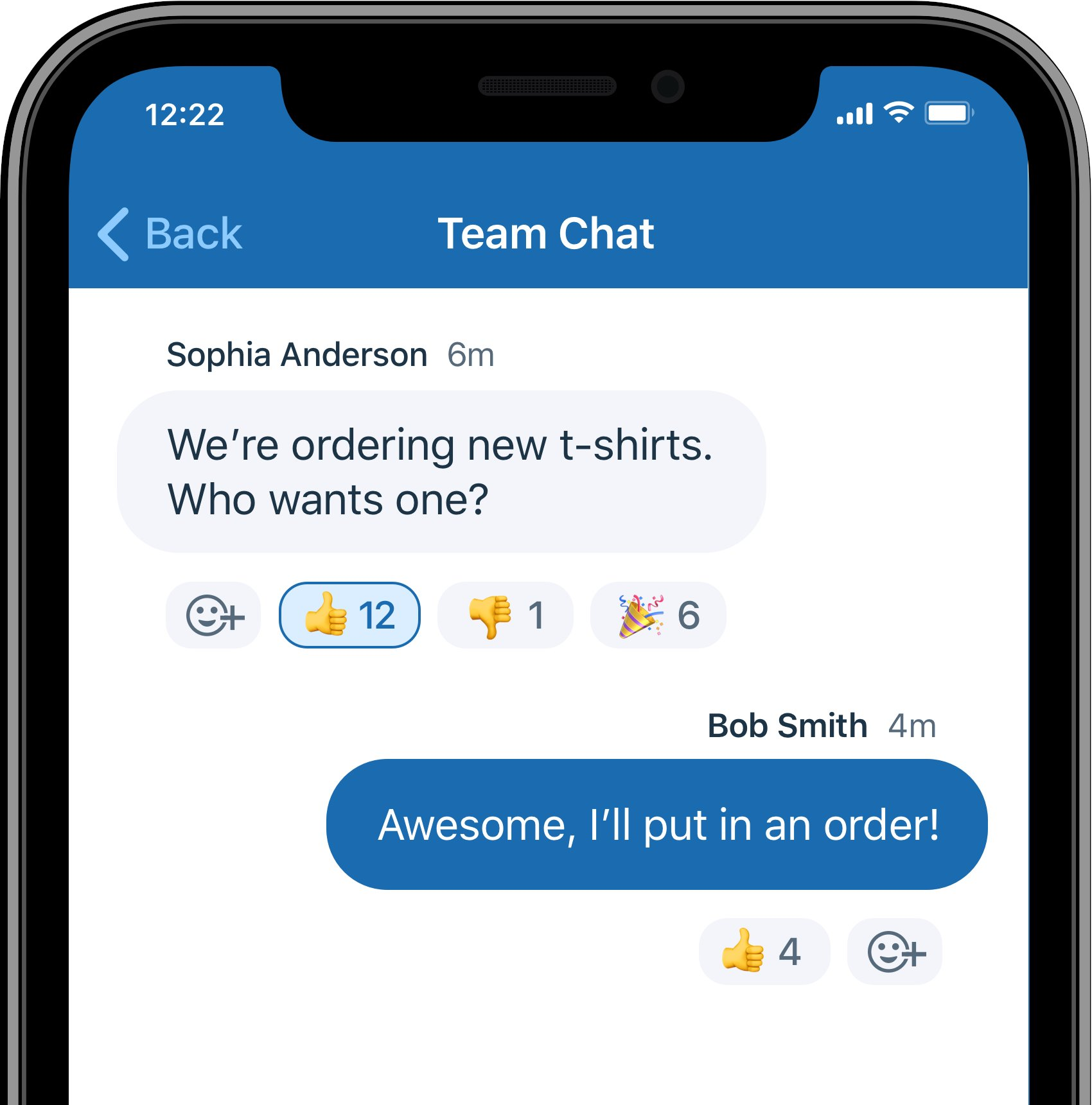 Introducing Emoji Reactions for Team Chats and Polling