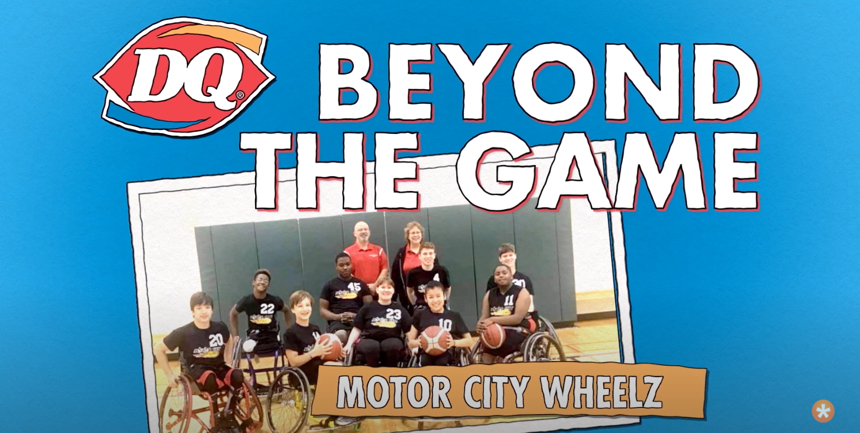 DQ<sup>®</sup> Beyond the Game Contest Winner: Motor City Wheelz