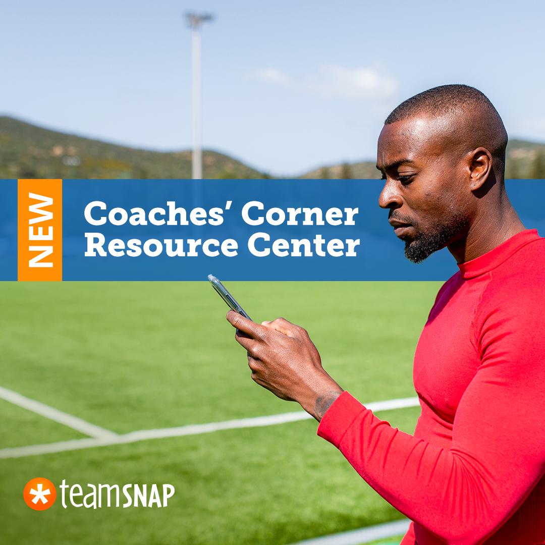 Introducing the TeamSnap Coaches' Corner